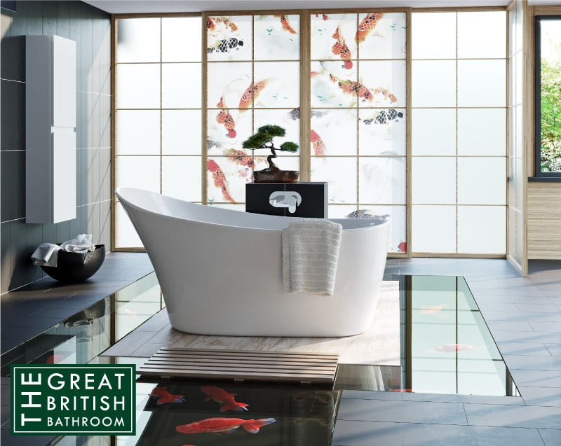 Mode Hardy freestanding bath