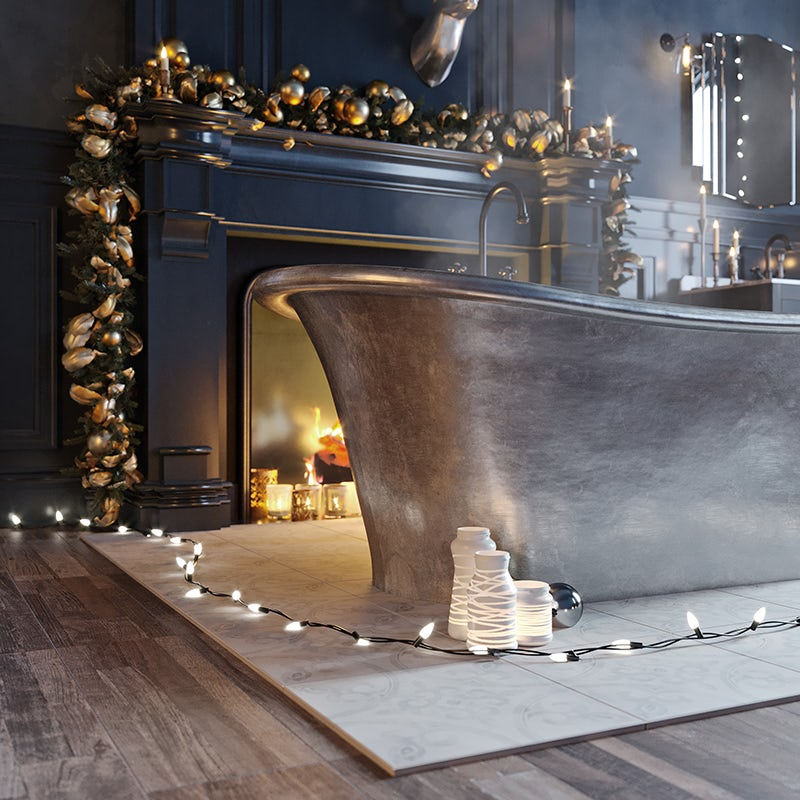 Enchanted Winter bath