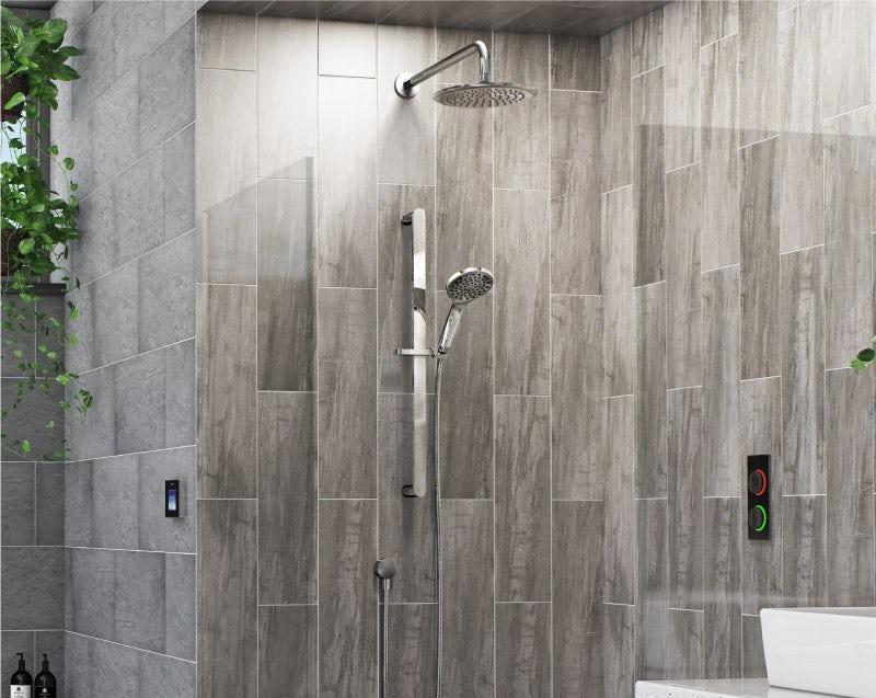 Airmix water-saving shower heads