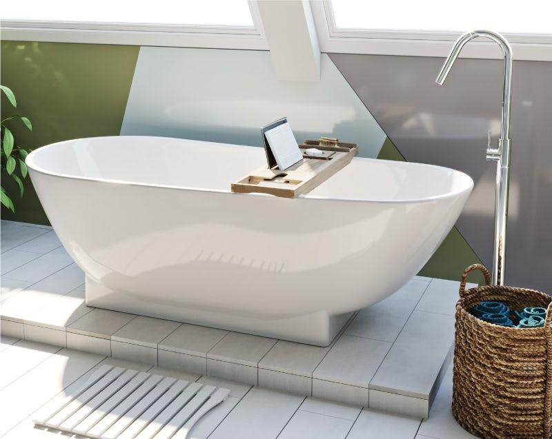 Colourful Creative bath