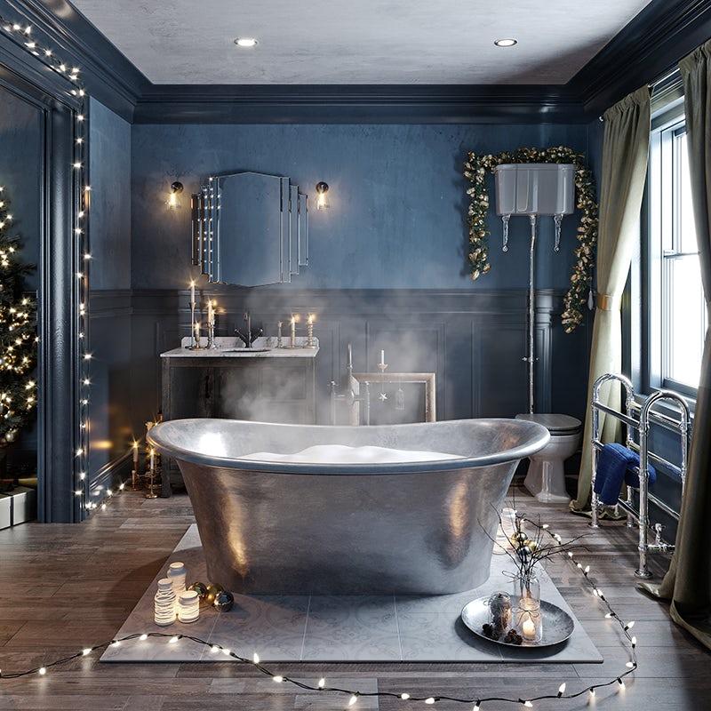 Enchanted Winter bathroom accessories