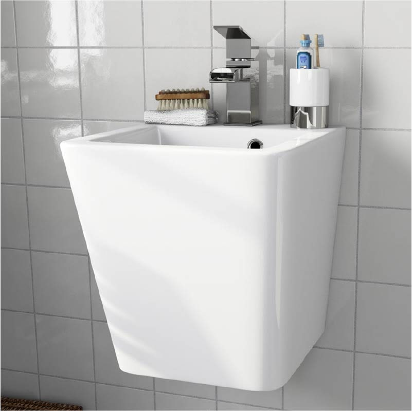 Orchard Montreal 1 tap hole wall hung basin 370mm