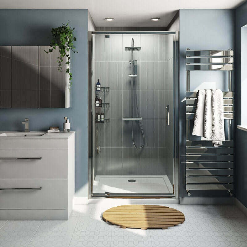 Orchard 6mm pivot hinged shower door