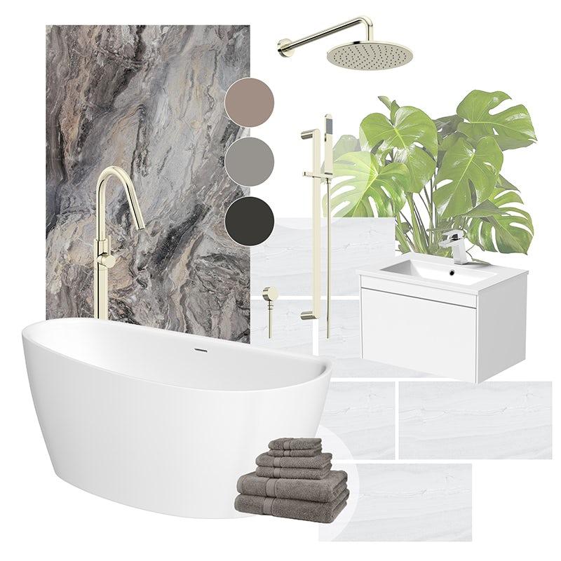 Ritual Retreat bathroom ideas mood board