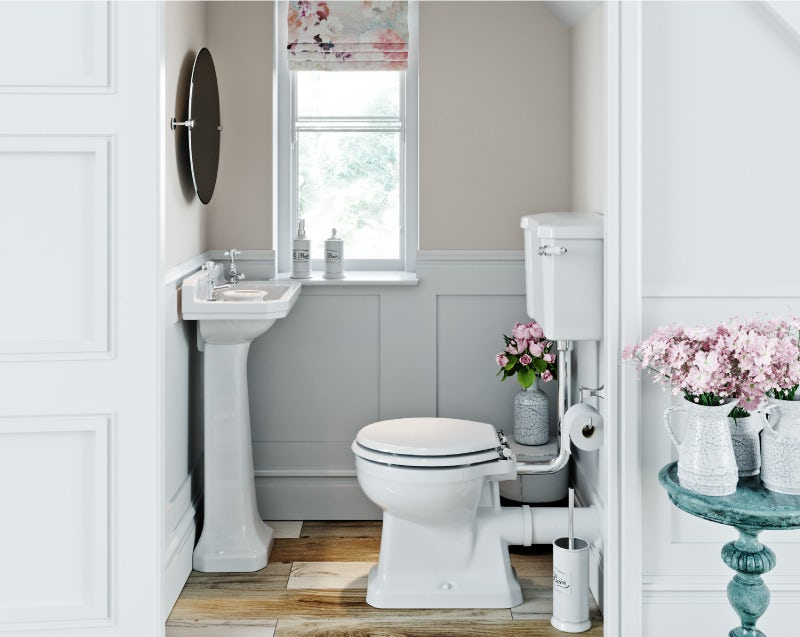 French Floral cloakroom ideas