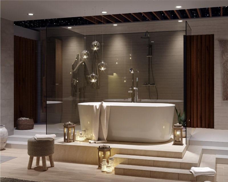Tate freestanding bath bathroom suite