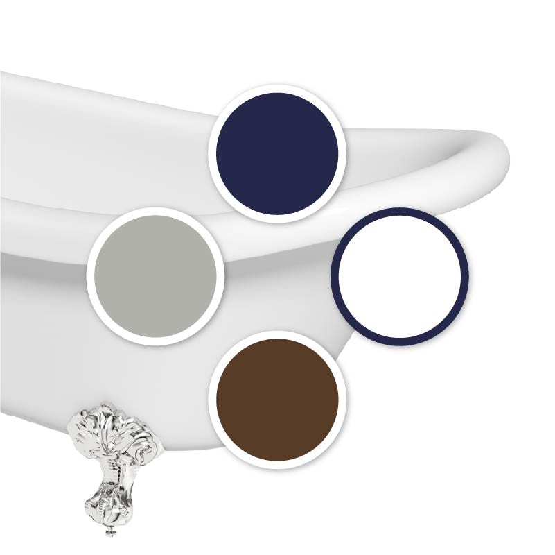 The Harbour nautical colour swatch