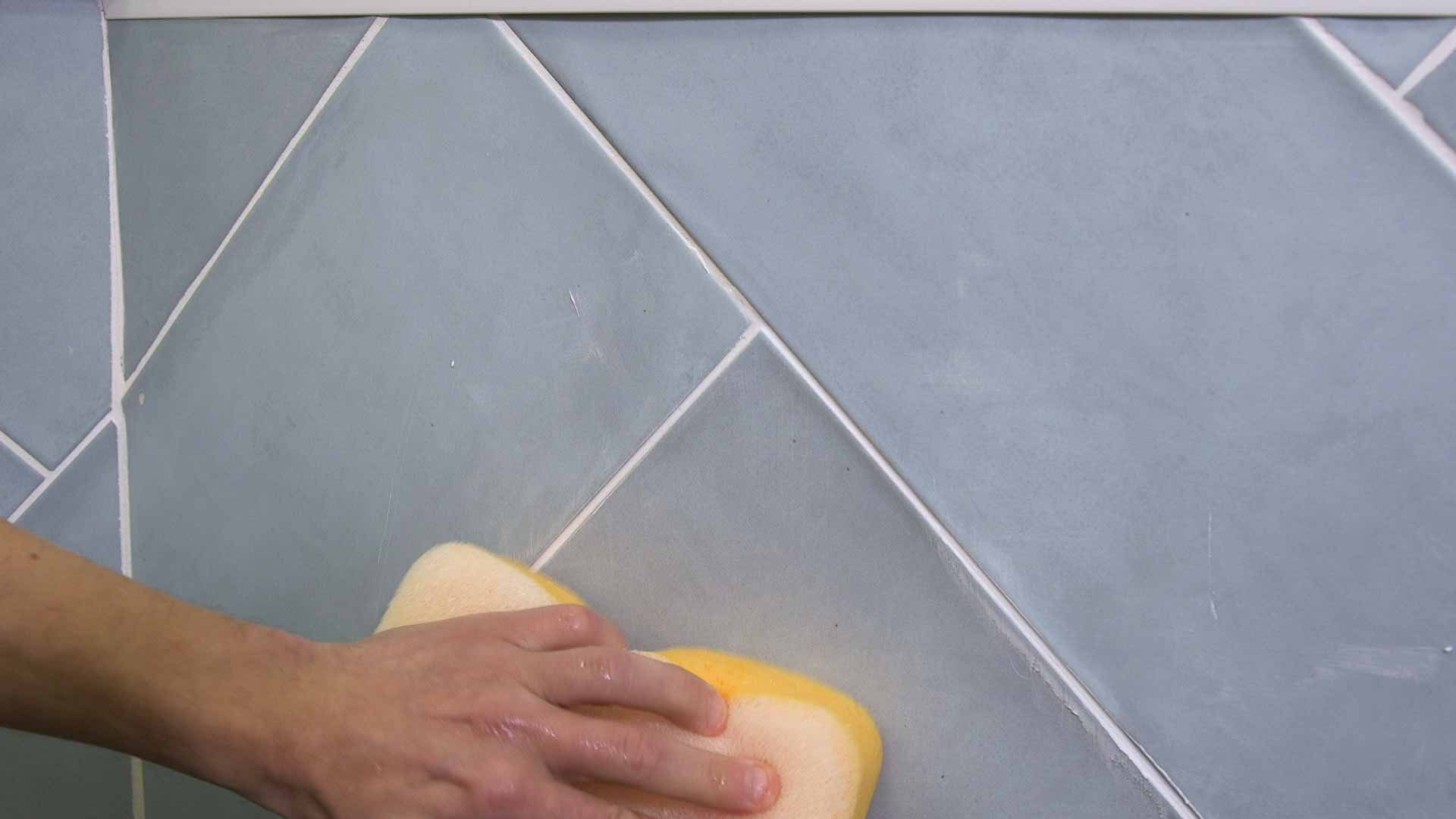 how to regrout tiles 7
