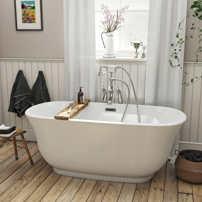 The Bath Co. Camberley traditional freestanding bath