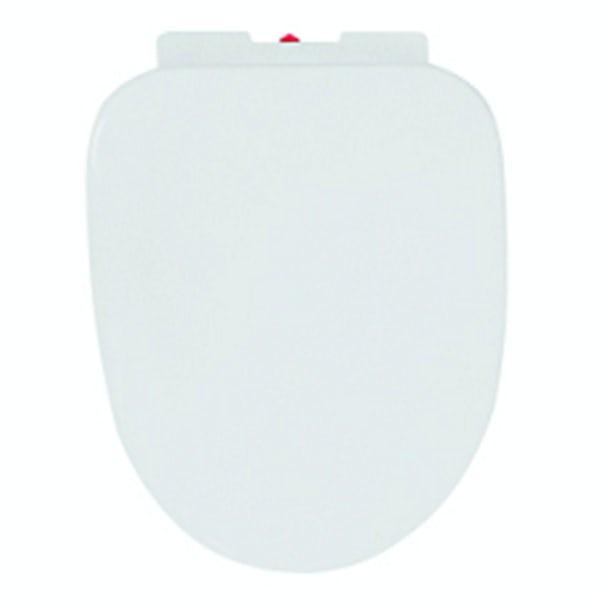 Orchard Eden white D-shape bottom fix soft close toilet seat
