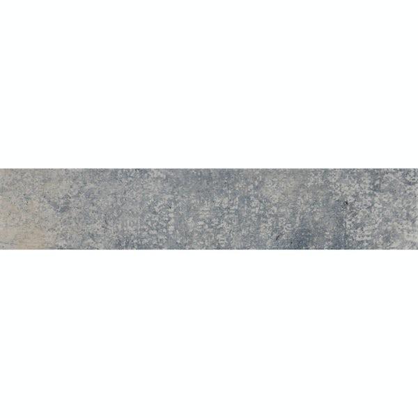 Granada blue traditional matt wall and floor tile 75mm x 385mm