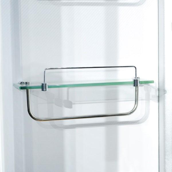 Insignia right handed offset quadrant steam shower bath cabin 1700 x 900