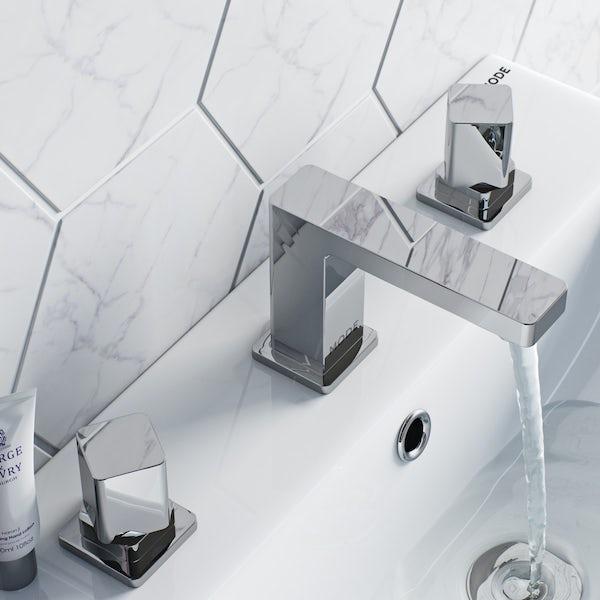 Mode Austin 3 hole basin mixer tap