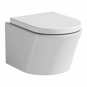 Mode Tate wall hung toilet with soft close seat