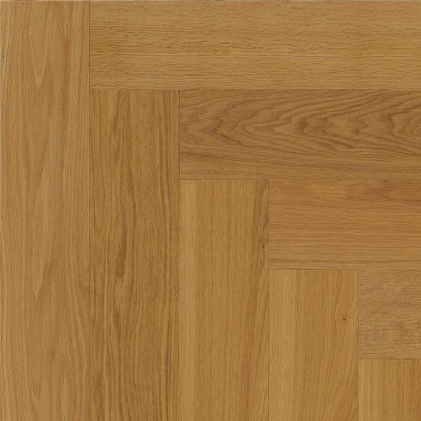 Tuscan Modelli Herringbone smoked oak multiply brushed engineered wood flooring