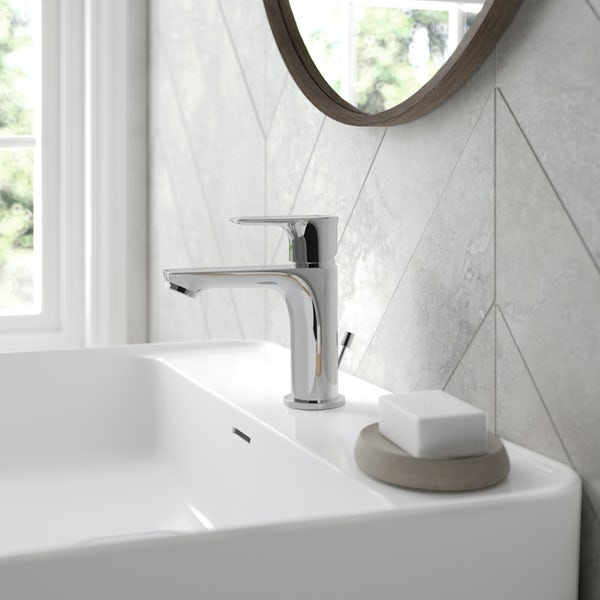 Ideal Standard Concept Air slim basin mixer tap with pop up waste