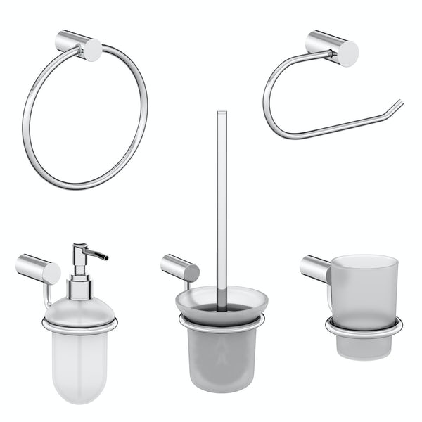 Clarity 5 piece accessory set