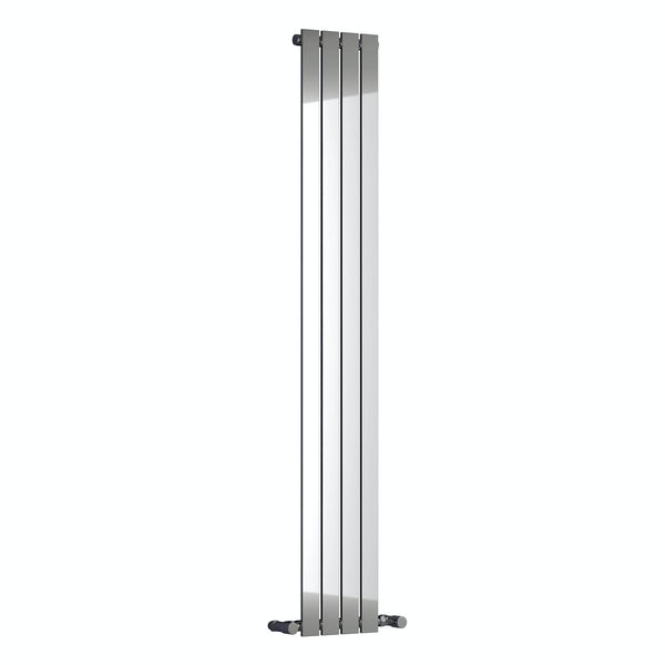 Reina Osimo chrome steel designer radiator