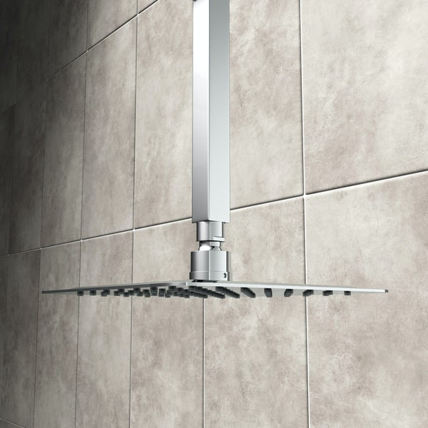 Square Ceiling Arm 200mm Victoriaplum