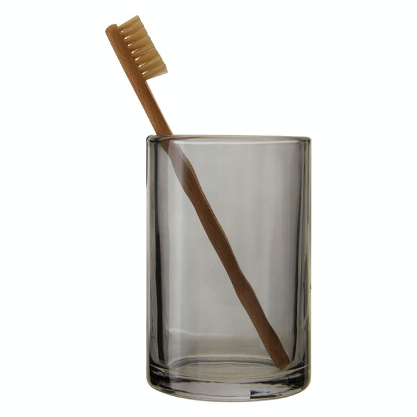 Accents Ridley grey glass tumbler