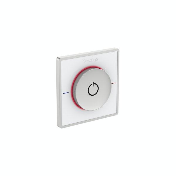 SmarTap smart shower white single controller