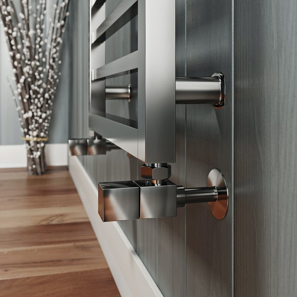 Mode Burton chrome heated towel rail