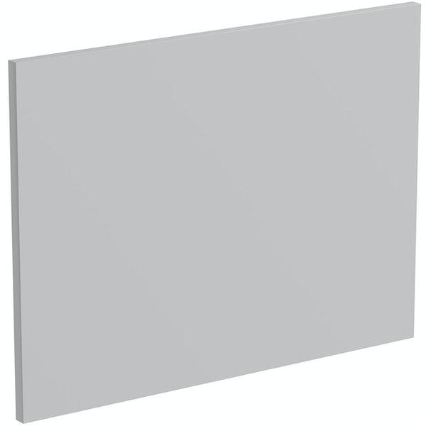 Schon Boston light grey 600mm integrated extractor door