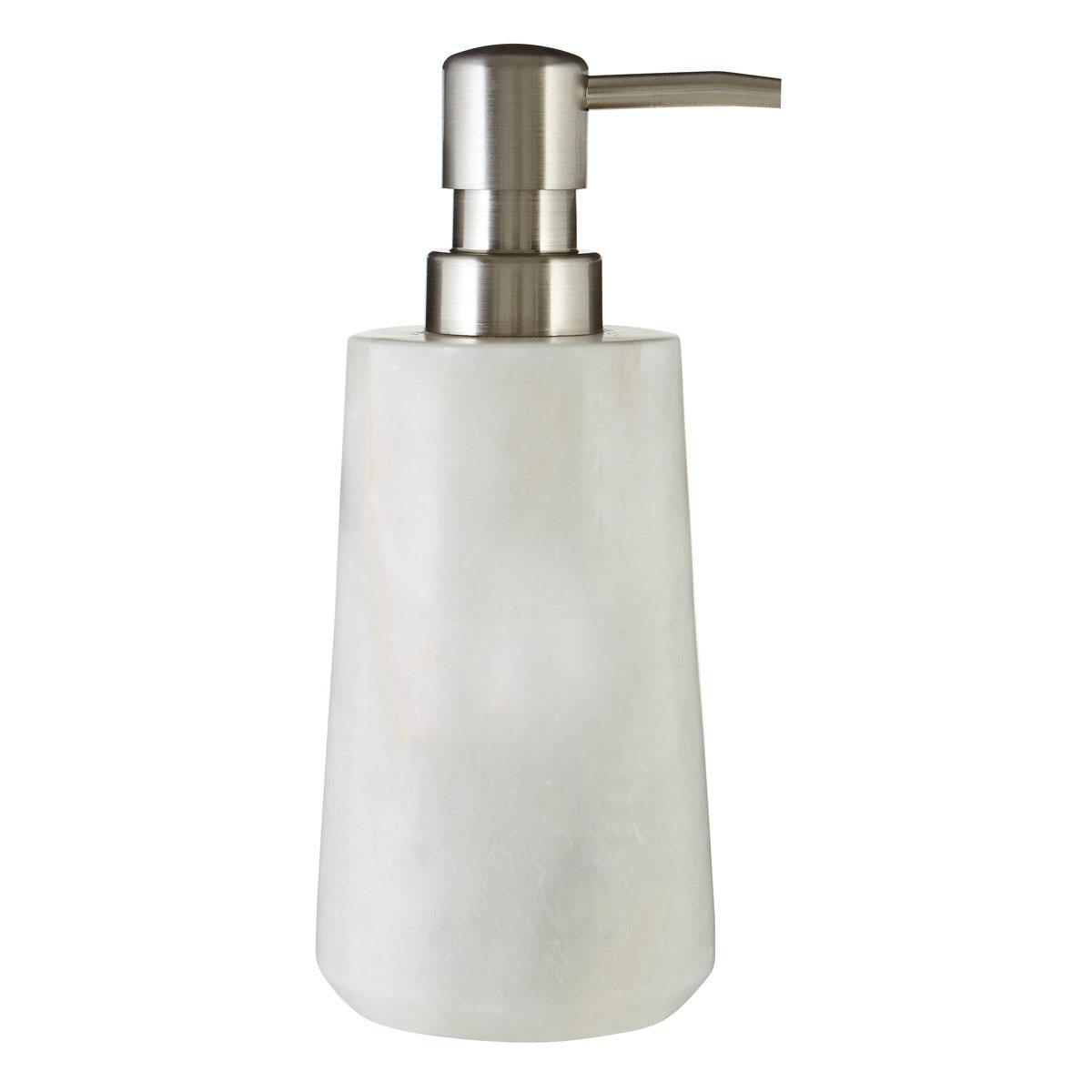 Mode White Marble Soap Dispenser Victoriaplum Com