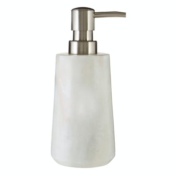 Mode White marble soap dispenser