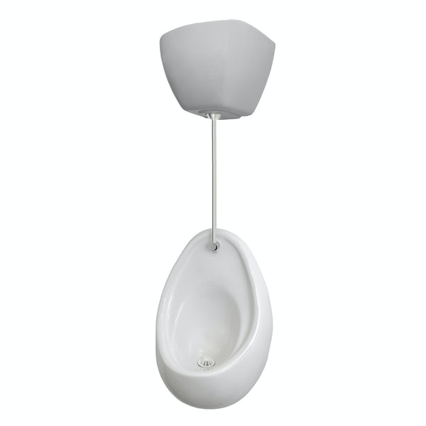 Kirke Curve complete top in concealed urinal 600mm pack