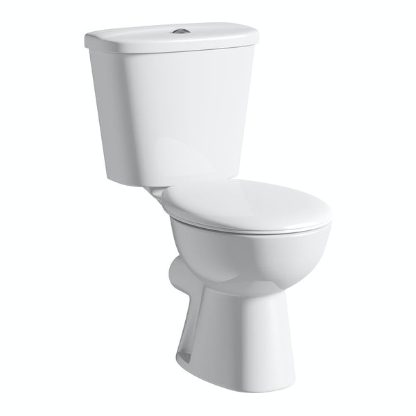 Clarity Close Coupled Toilet inc Seat