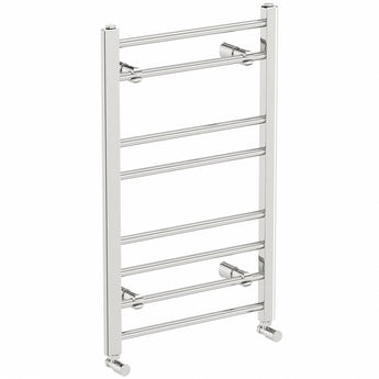 The Heating Co. Chrome heated towel rail