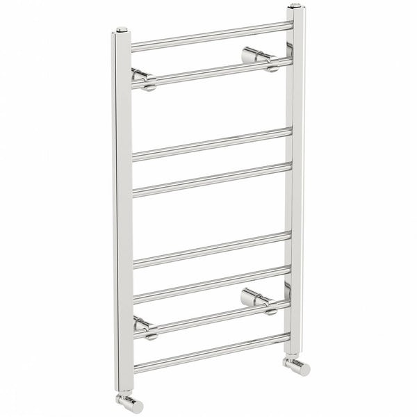 Clarity heated towel rail