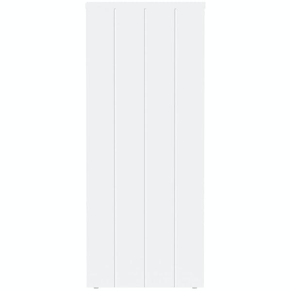 The Bath Co. Dulwich matt white open storage unit 800 x 300mm