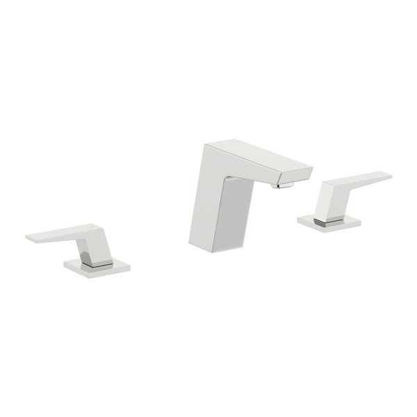 Mode Carter 3 hole basin mixer tap