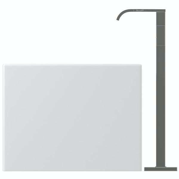 Mode Cooper freestanding bath & tap pack with Austin bath filler