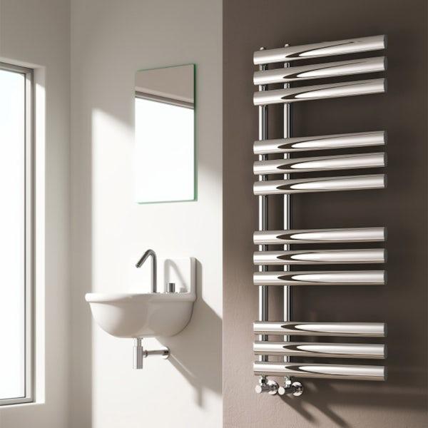 Reina Chisa chrome steel designer radiator