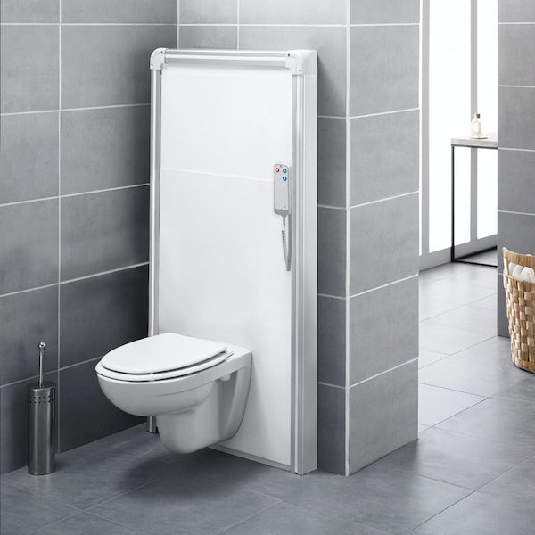 Saniflo Sanimatic WC unit with remote flushing