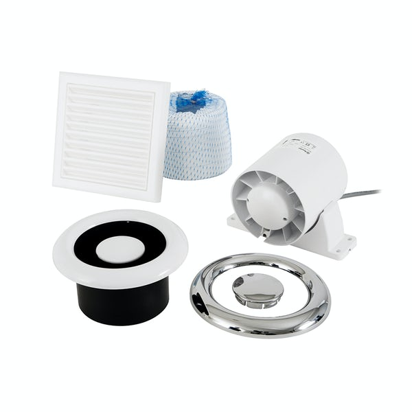 Xpelair airline shower fan kit