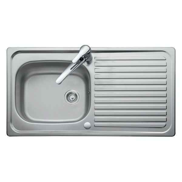 Leisure Linear 1.0 bowl reversible kitchen sink