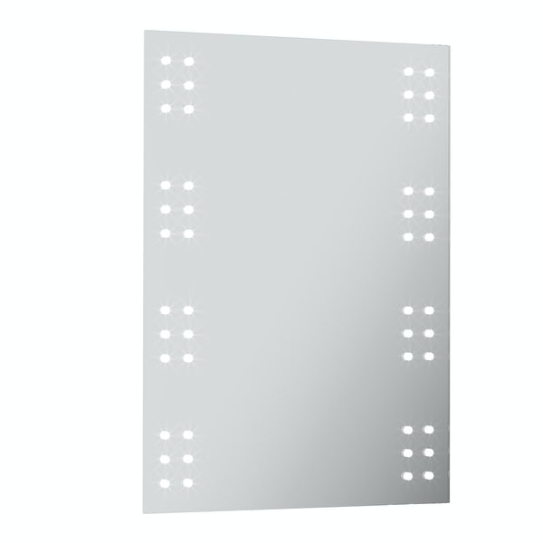 Radiant Rectangular LED mirror