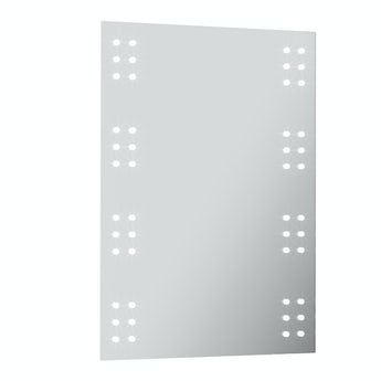 Mode Radiant LED illuminated mirror 700 x 500mm with demister & charging socket