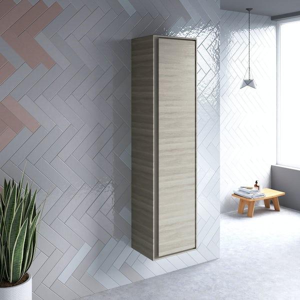 Ideal Standard Concept Air wood light brown wall cabinet