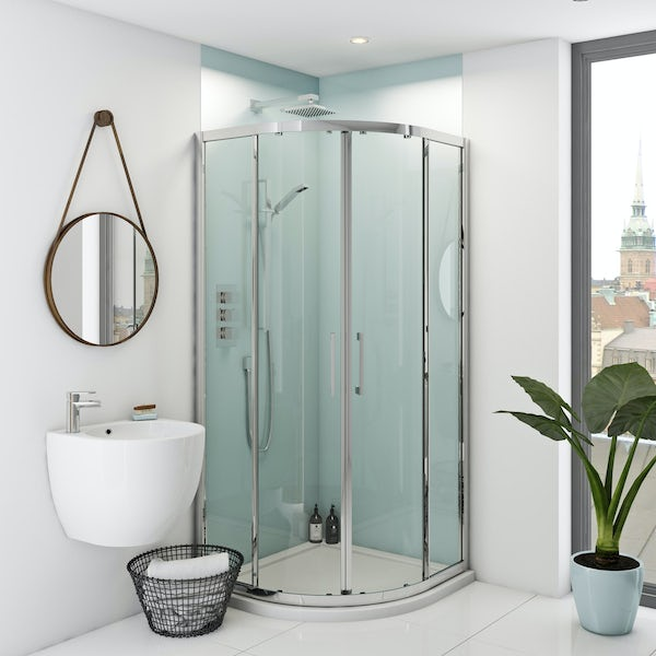 Zenolite plus air acrylic shower wall panel 2440 x 1220