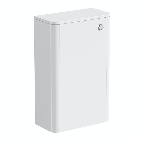 Mode Carter white back to wall toilet unit 500mm