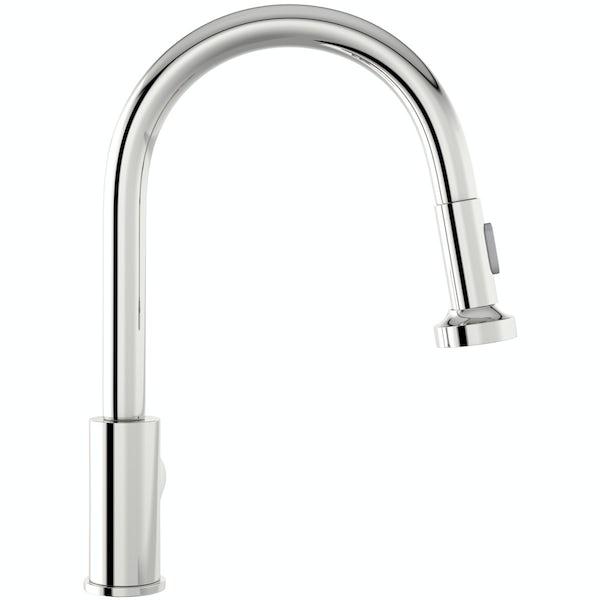 Schön pull out kitchen mixer tap