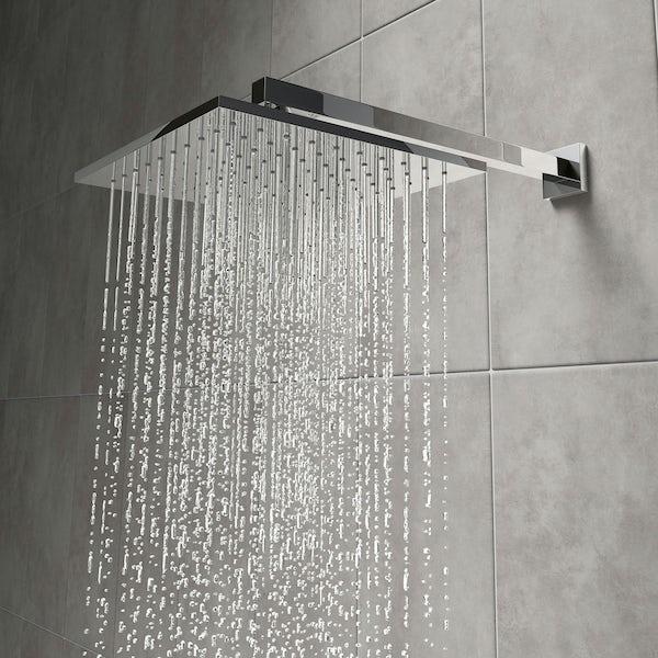 Mode Tetra Square Shower Head 250mm Victoriaplum Com