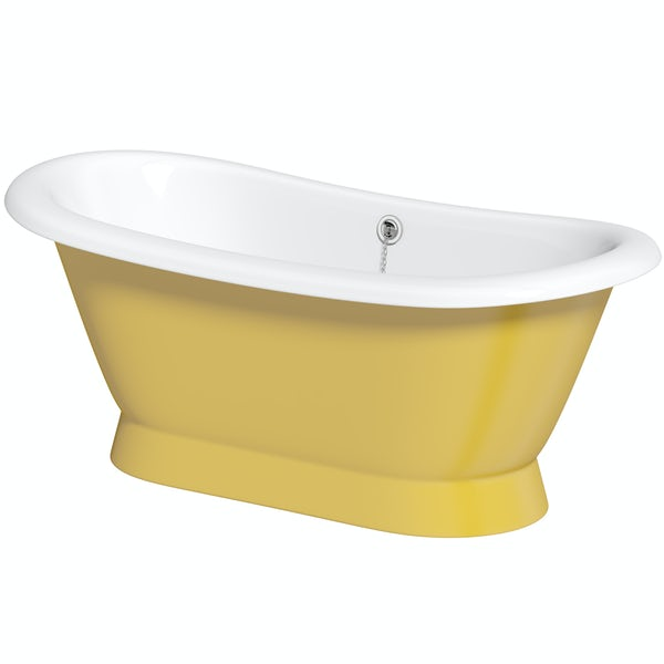 Artist Collection Honey Yellow cast iron bath