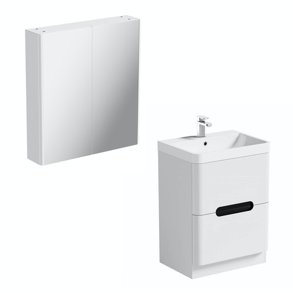 Mode Ellis essen vanity unit 600mm and mirror cabinet offer