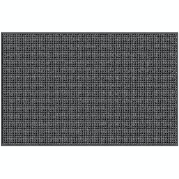 Accents dark grey chenille bath mat